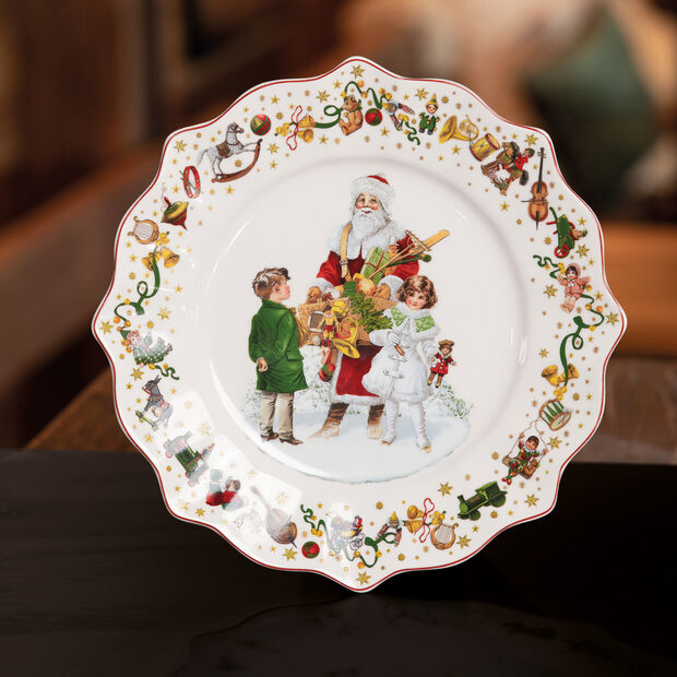 Annual Christmas Edition Salad Plate 2021 24x24cm, , large