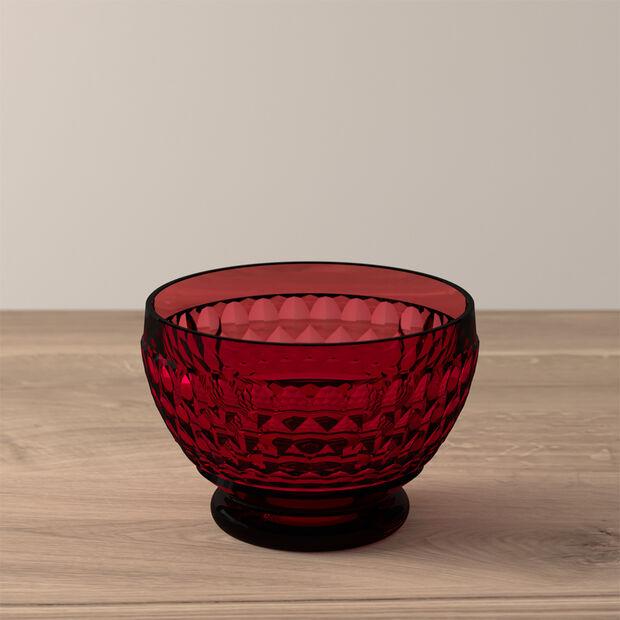 Boston Coloured Dessert bowl Red, , large