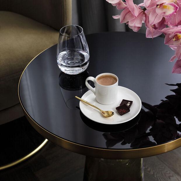 MetroChic blanc Saucer espresso cup 14,5x14,5x1,5cm, , large