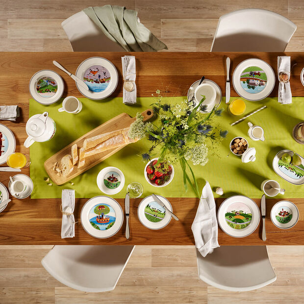 Design Naif Bread & butter plate Meeting, , large