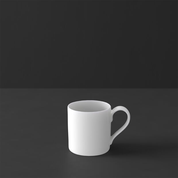 MetroChic blanc mocha/espresso cup, 80 ml, white, , large