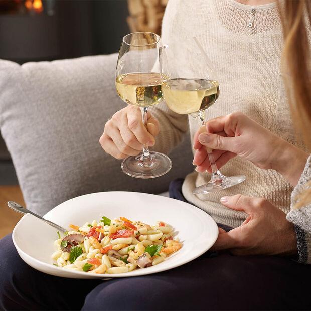 Entrée white wine glass, 4 pieces, , large