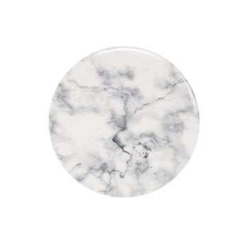 Marmory breakfast plate white 21x21x1,5cm