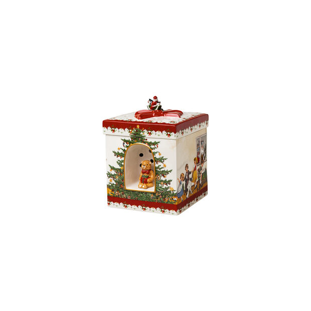 Christmas Toys gift box square, 2021 17x17x21,5 cm, , large