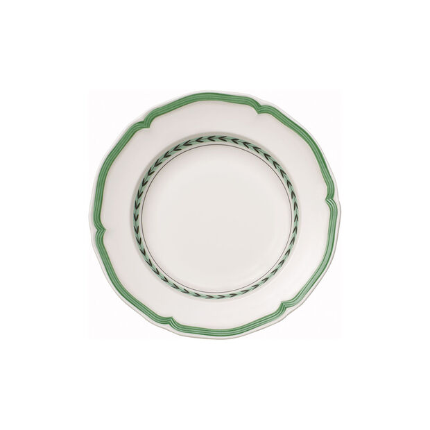 French Garden Green Line soup plate, , large