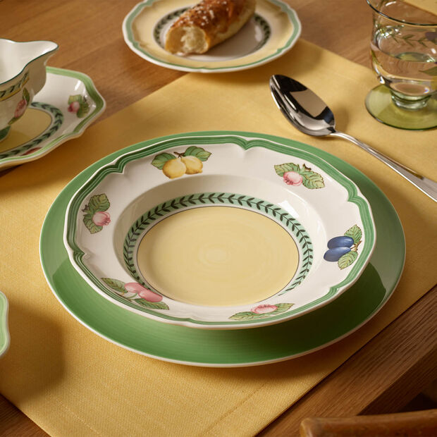 French Garden Fleurence soup plate, , large