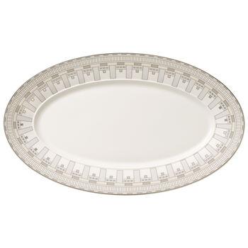 La Classica Contura Oval platter 43cm