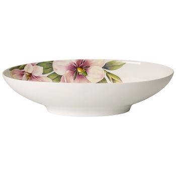 Quinsai Garden oval bowl 30 x 18 cm