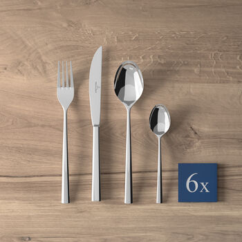 Piemont Cutlery set 24pcs 42x27x5cm