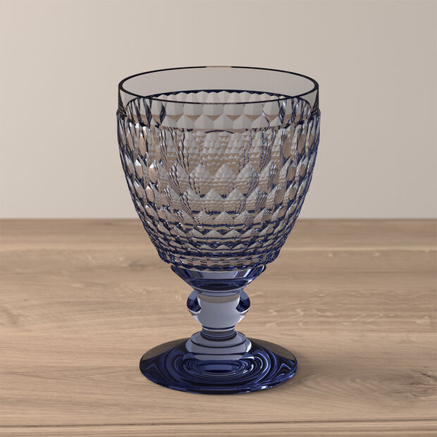 Boston Coloured Water glass Blue, , large