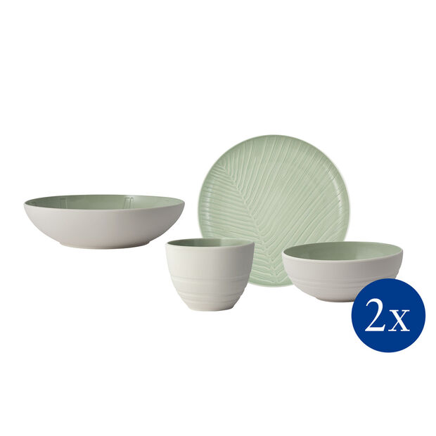 It's my match First Love, tableware set, 7 pieces, for 2 people, , large