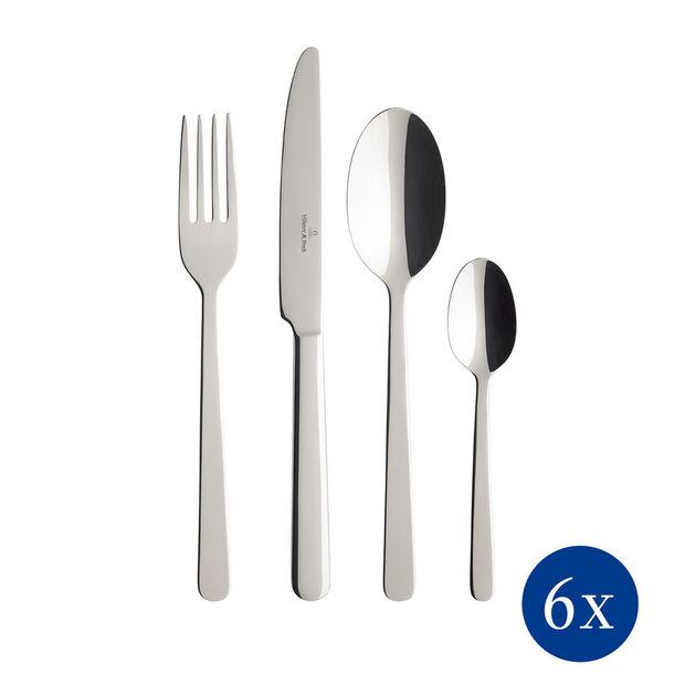 Louis Cutlery set 24pcs 44x28x5cm, , large
