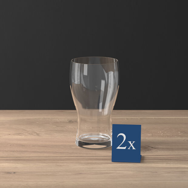 Purismo Beer pint glass 2-piece set, , large