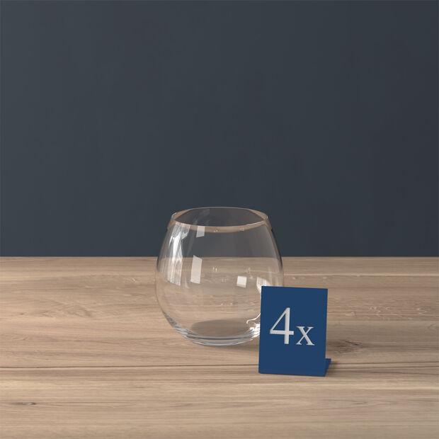 Entrée water glass, 570 ml, 4 pieces, , large