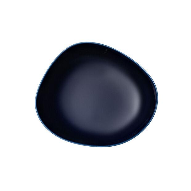 Organic Dark Blue deep plate, dark blue, 20 cm, , large