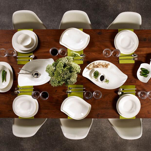 New Cottage Special Serve Salad serving plate 50 x 30 cm, , large