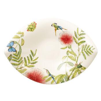 Amazonia leaf bowl 47 x 38 cm