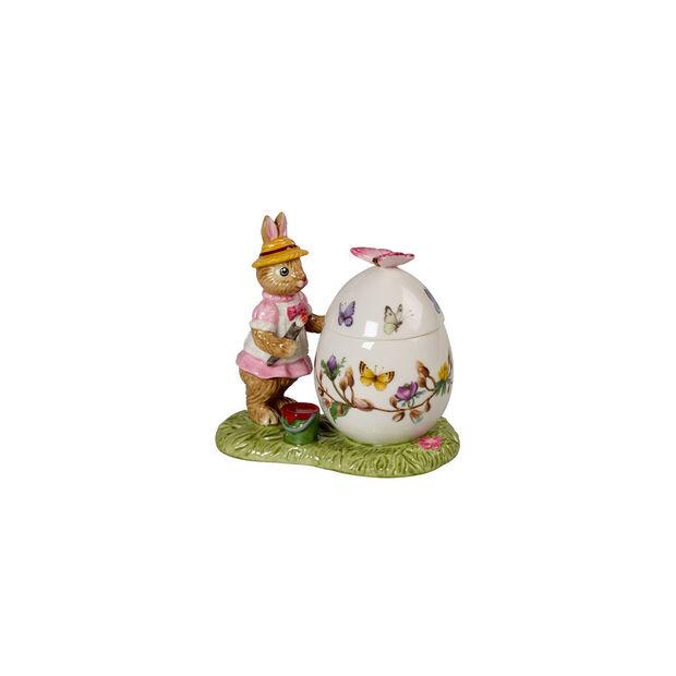Bunny Tales Easter egg jar Anna, 11 x 6.5 x 10 cm, multicoloured, , large