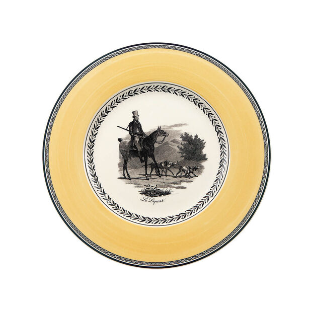 Audun Chasse dinner plate, , large