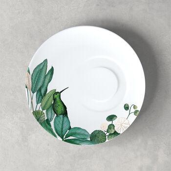 Avarua tea cup saucer, 18.5 cm, white/multicoloured