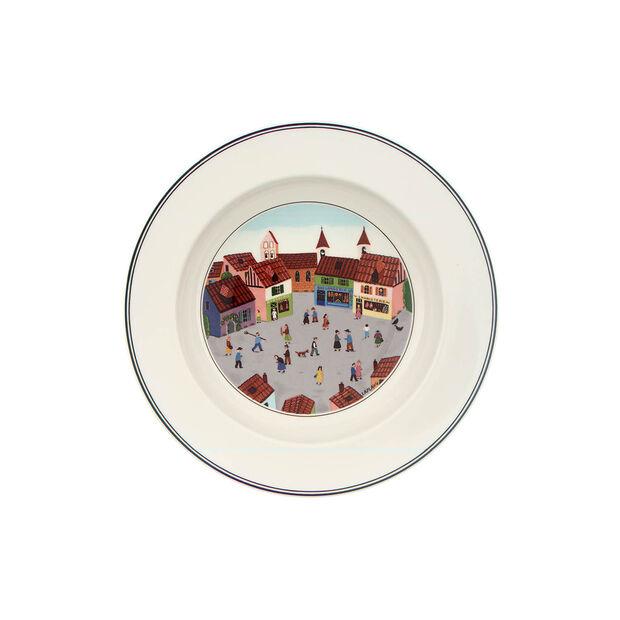 Design Naif Deep plate Village 21cm, , large