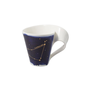 NewWave Stars mug Capricorn, 300 ml, blue/white