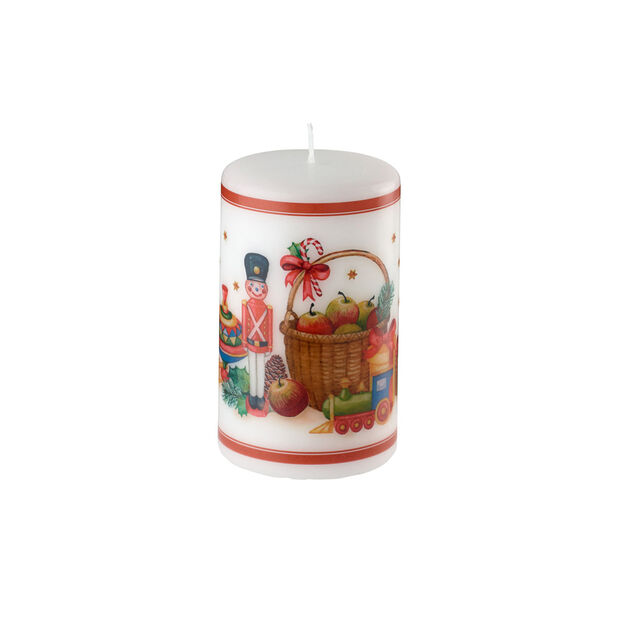 Winter Specials large nutcracker candle, , large