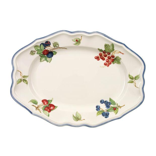 Cottage Oval platter  37cm, , large