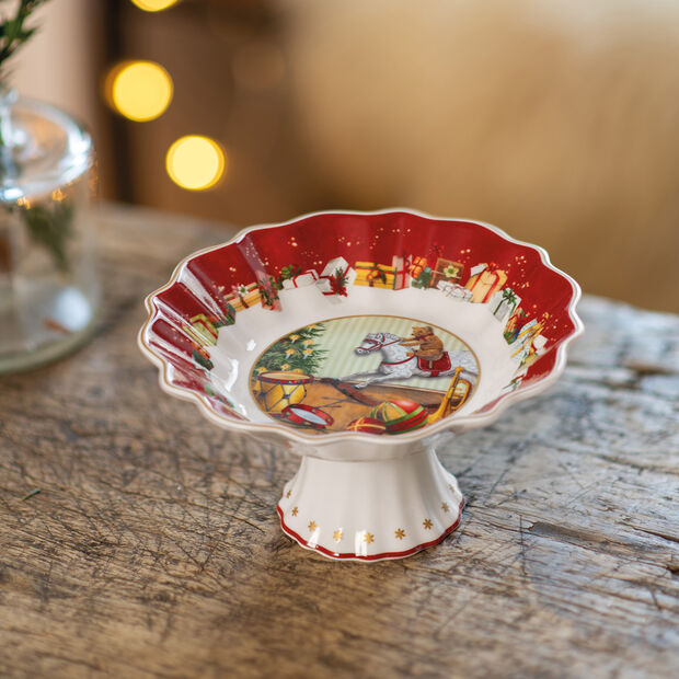 Toy's Fantasy Footed bowl small, Gifts 14,5x14,5x7,5cm, , large