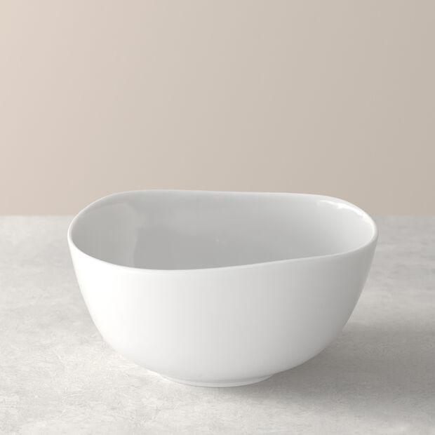 Organic White Bowl 15 x 15 x 7,5cm, , large