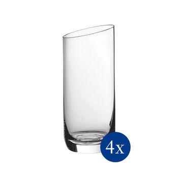 NewMoon long drink glass set, 370 ml, 4 pieces