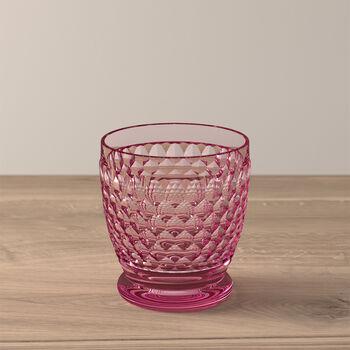 Boston Coloured Water/cocktail tumbler Pink