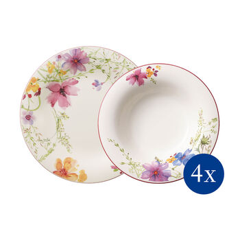 Mariefleur Basic dinner set 8 pieces EC
