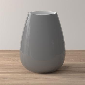 Drop large vase Pure Stone