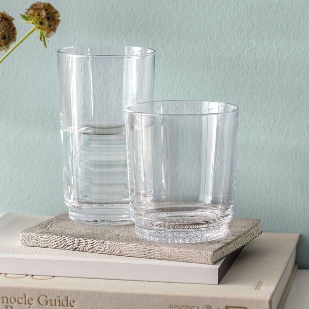 like.by Villeroy & Boch it's my match water glass set, clear, 9 x 10 cm, 2 pieces, , large