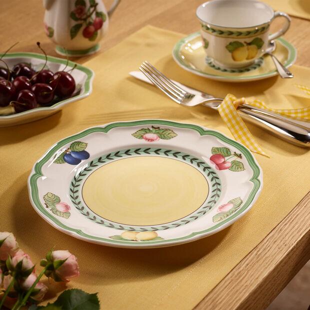 French Garden Fleurence breakfast plate, , large