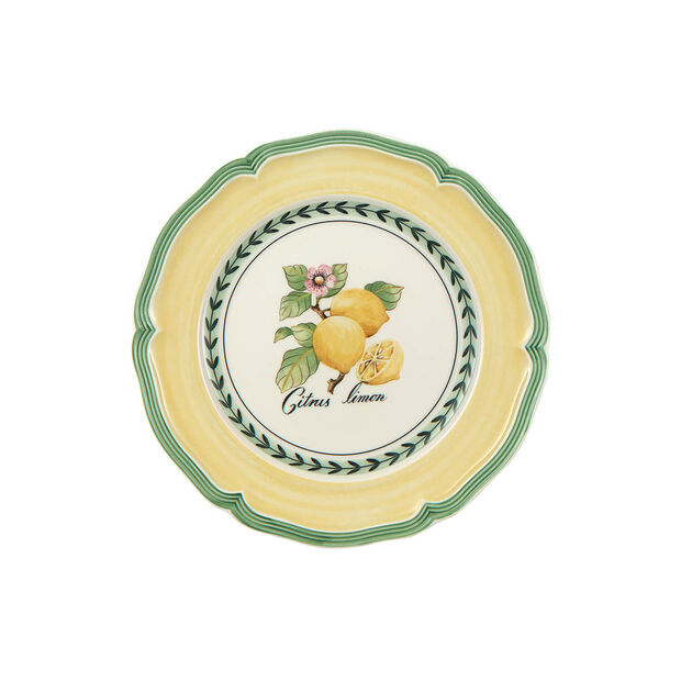 French Garden Valence breakfast plate, , large