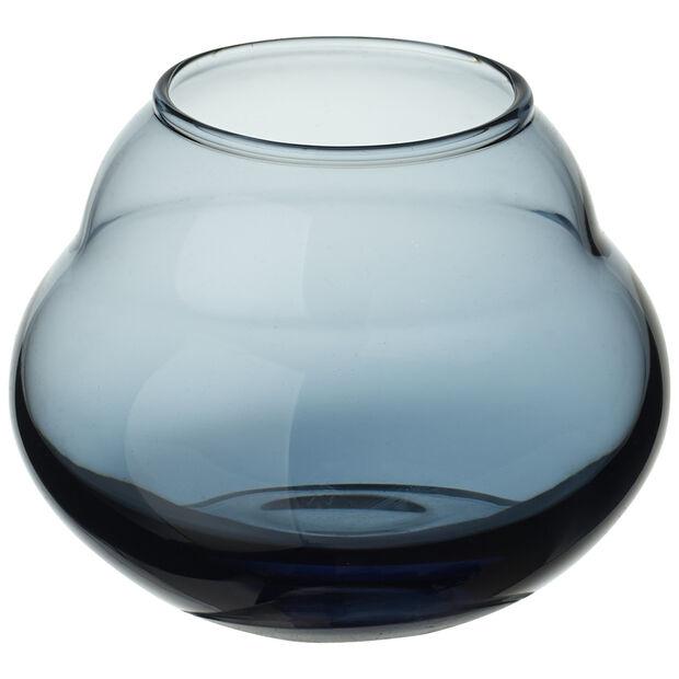 Jolie Bleue vase/tea light holder, , large