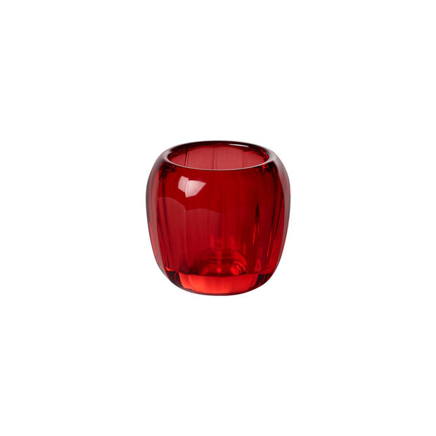 Coloured DeLight small tea light holder Deep Red, , large