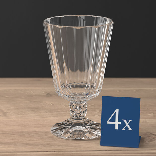 Opéra water goblet 4-piece set, , large
