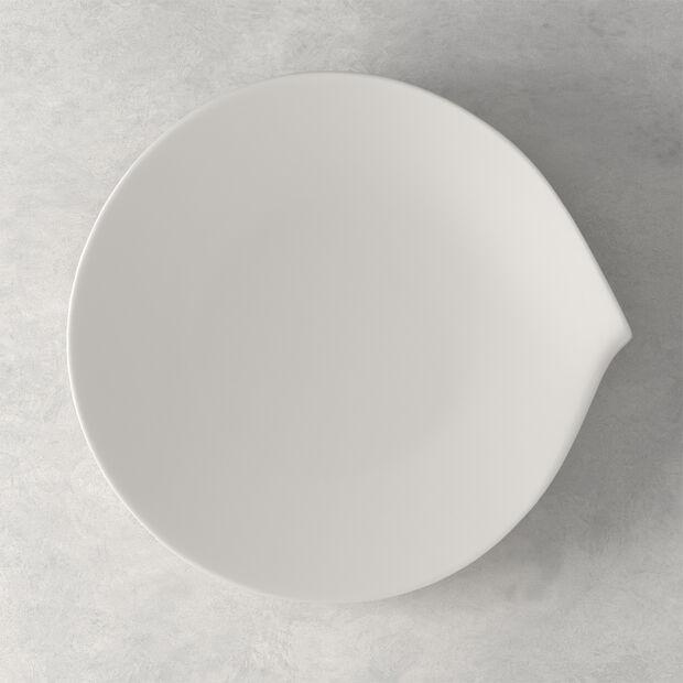 Flow dinner plate 28 x 27 cm, , large