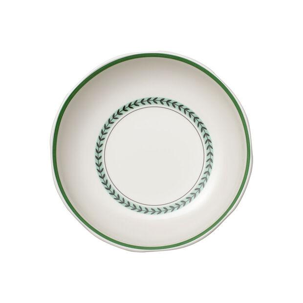 French Garden Green Line Bowl flat 23,5x23,5x5cm, , large