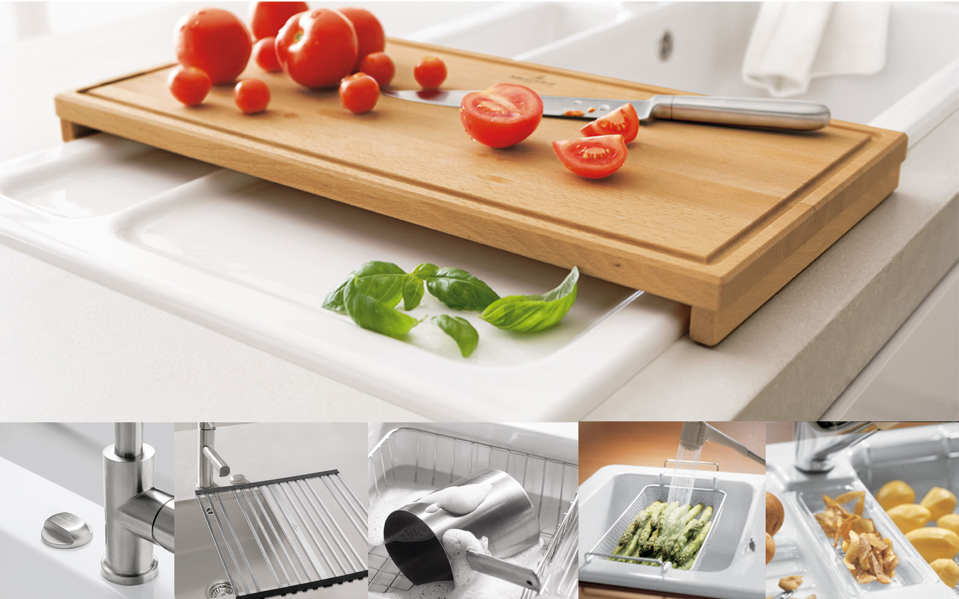 Kitchen accessories from Villeroy Boch for more fun in the kitchen