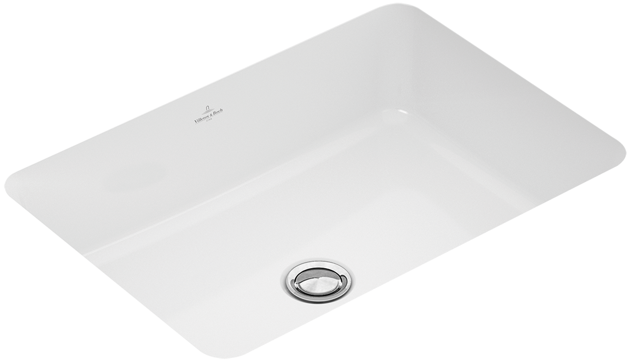 O Novo Undercounter Washbasin Rectangle 512253 Villeroy