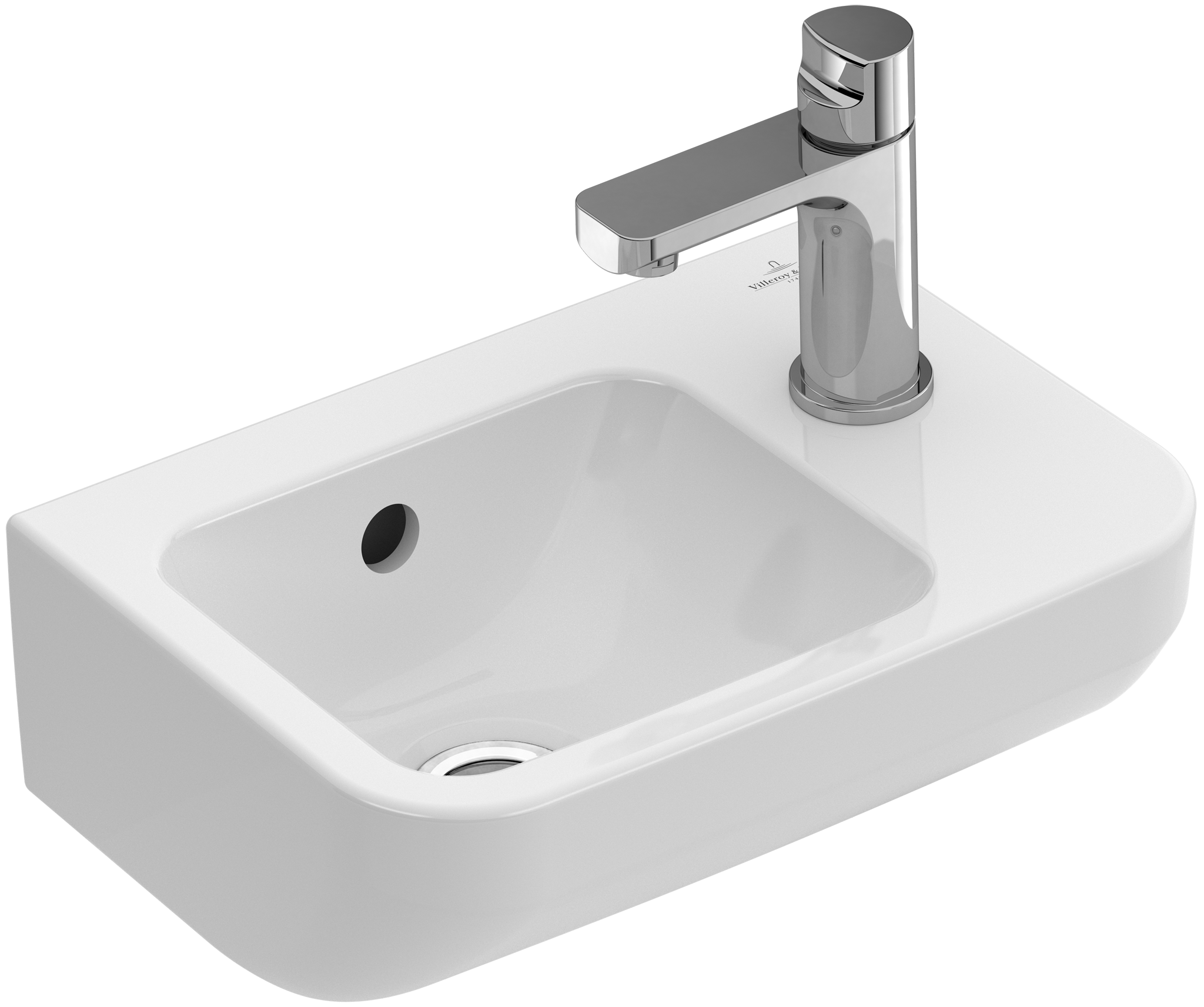 architectura handwashbasin angular 437337 villeroy boch. Black Bedroom Furniture Sets. Home Design Ideas