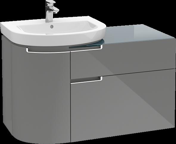 bathroom sink cabinets. Subway 2 0 Bathroom Furniture  Vanity Unit For Washbasin Sink Cabinets A9200R Villeroy Boch