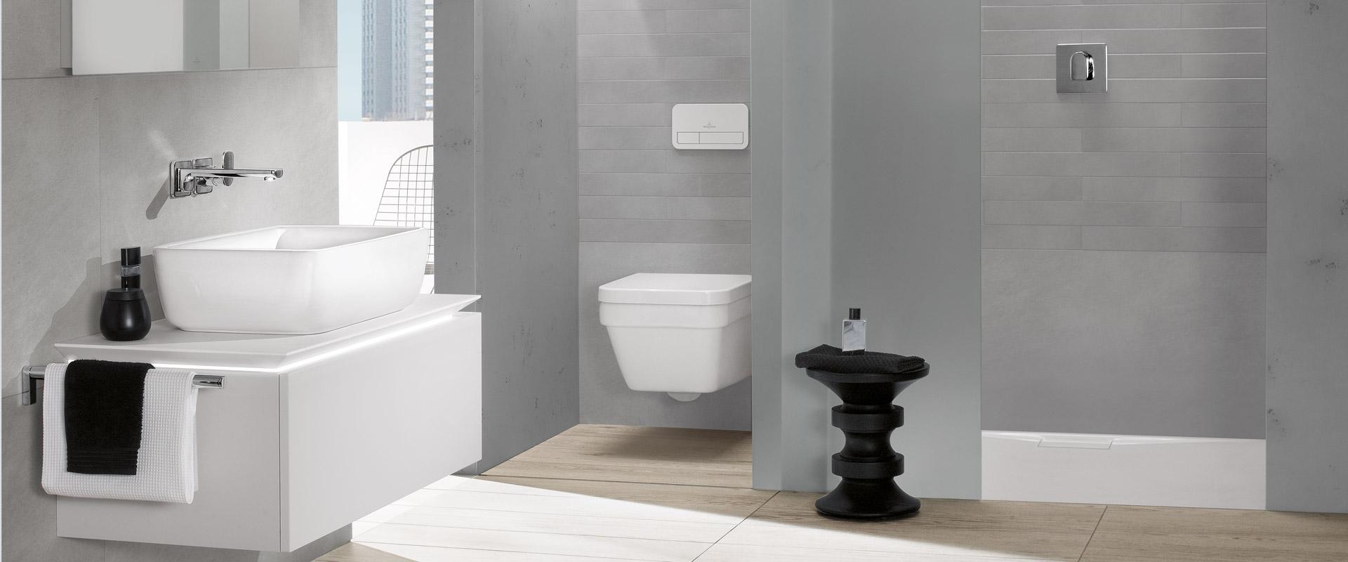 Architectura collection timeless design villeroy boch for Bathroom planner villeroy